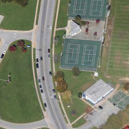 County Home Park Tennis Courts In Cockeysville MD