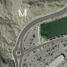 Football Stadium In El Paso Usa Sky View Aerial Views From The Sky From The Air Satellite Photos